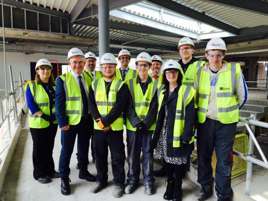 Politicians join calls to attract fresh talent into construction