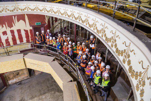 Youngsters get a glimpse of Perth Theatre restoration project