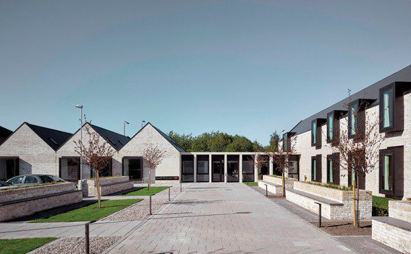 Cement slates add style to Glasgow facility