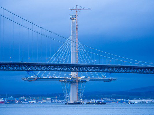 Weather blamed for Queensferry Crossing delay