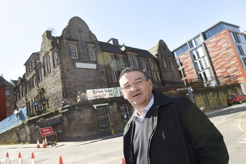 Pic Greg Macvean - 19/04/2016 - 07971 826 457 Billy Cowe who is opening a boutique hotel as part of the Canongate development