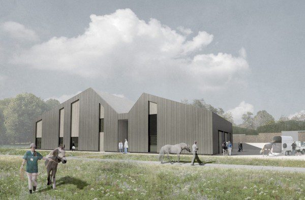 McLaughlin & Harvey bags Equine Centre project