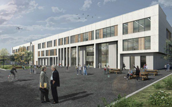 Aberdeen school project enters new phase