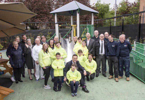 Castlemilk playpark shines after Stewart Milne Group upgrade