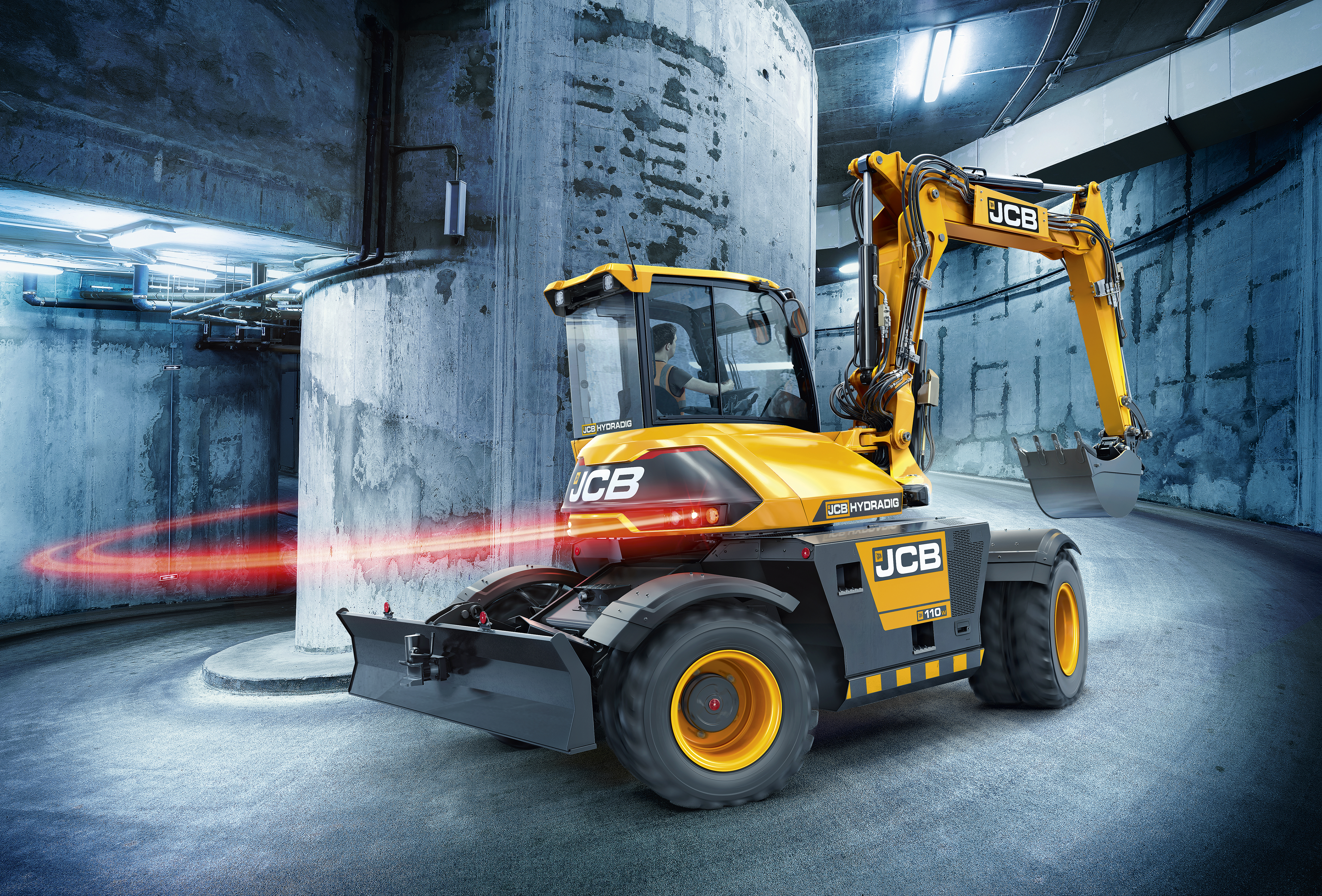 The new JCB Hydradig launched in 2016
