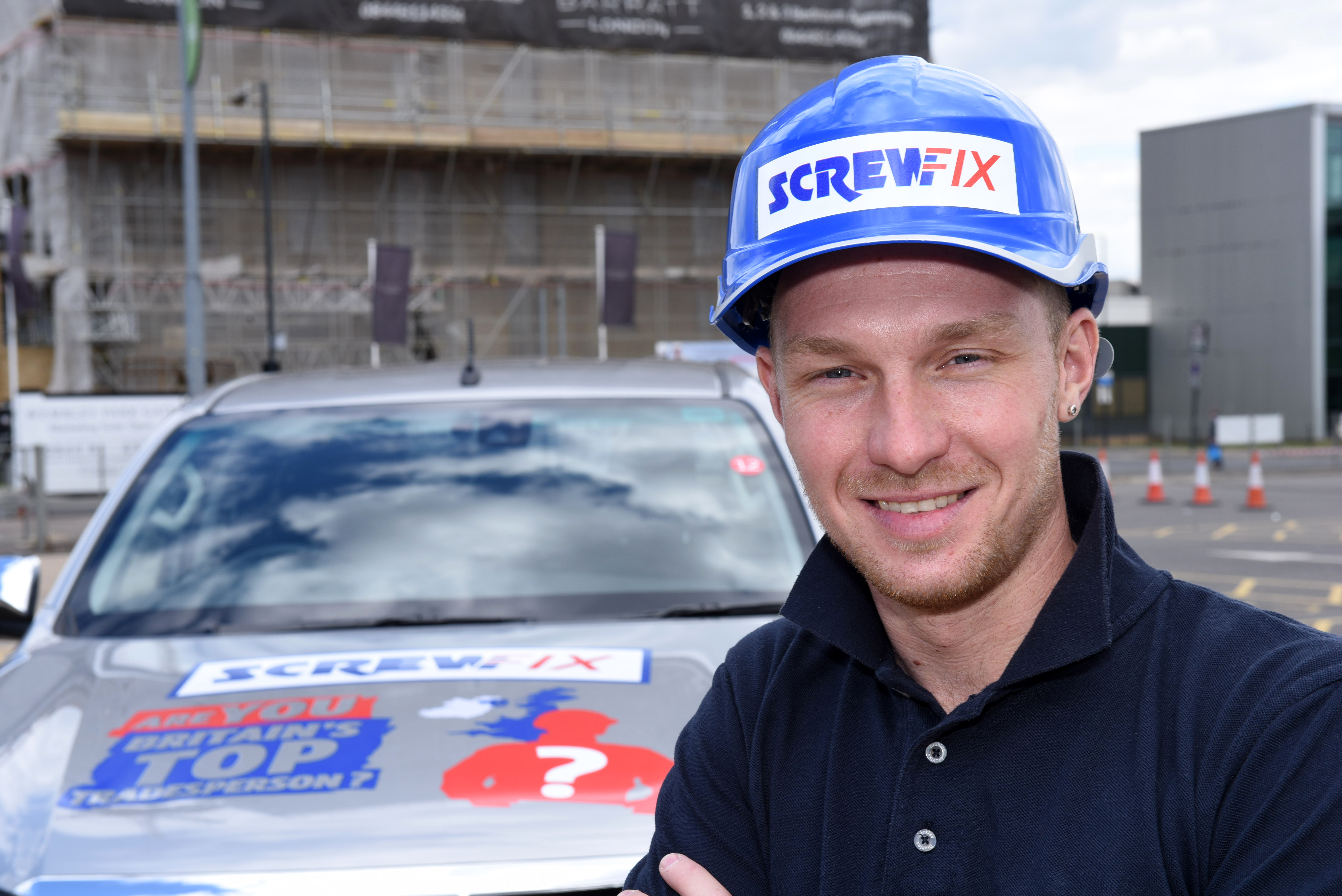 The winner of Britain's Top Tradesperson 2016 Richie Maxwell (2)