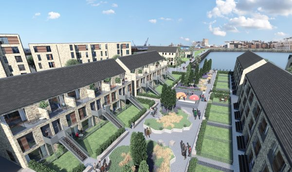 CALA submits plans for Waterfront Plaza in Leith
