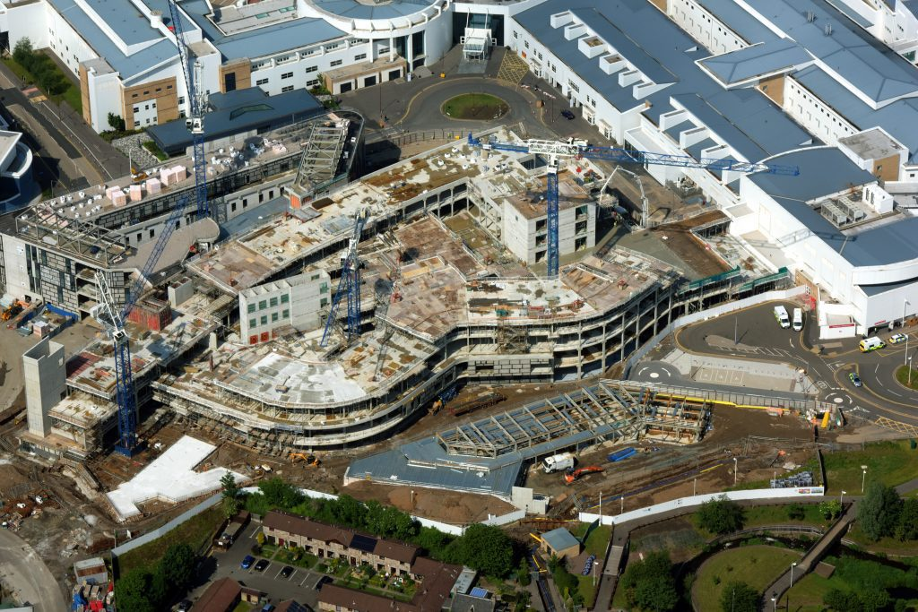 Edinburgh Hospital Delayed After Dunne Group Folds