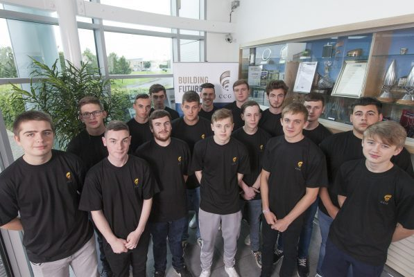 Apprentice intake helps CCG build for the future