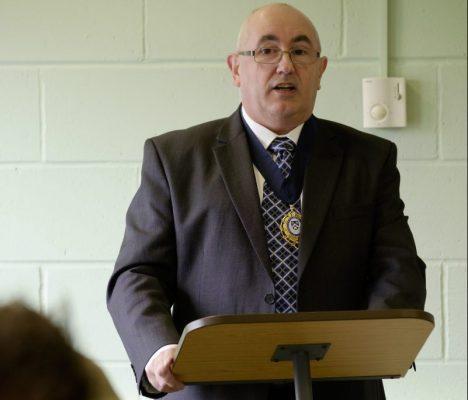 Eric re-SELECTed as trade body president