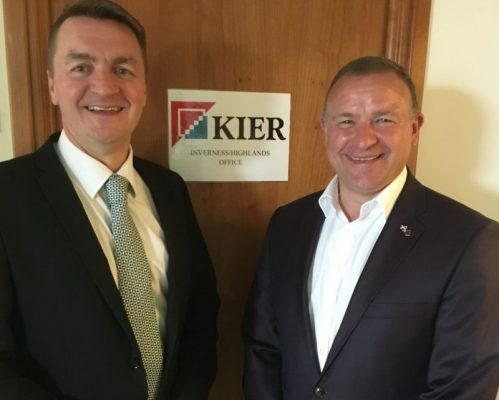 MP encouraged by Kier's Highland plans