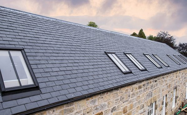 Roof windows add style to Scottish projects