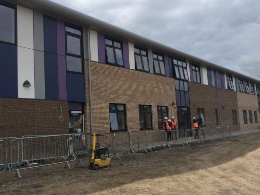 Milestone for new Dundee primary school