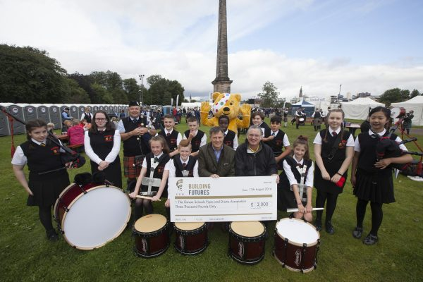 CCG banging the drum for local community