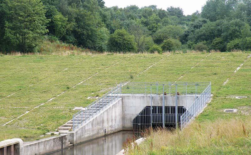 Wigan Flood Alleviation with Grasscrete
