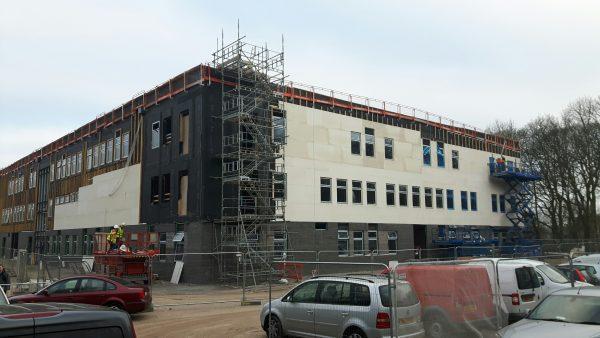 Glasgow supplier aids Staffordshire school project
