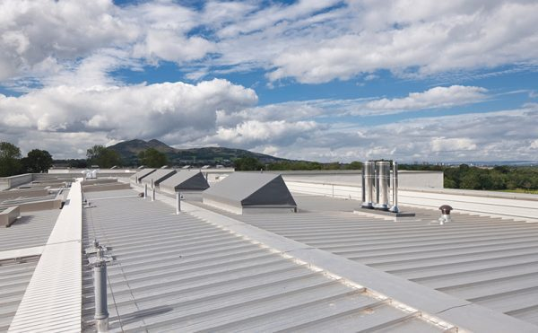 Roofing expertise put to test at Portobello High