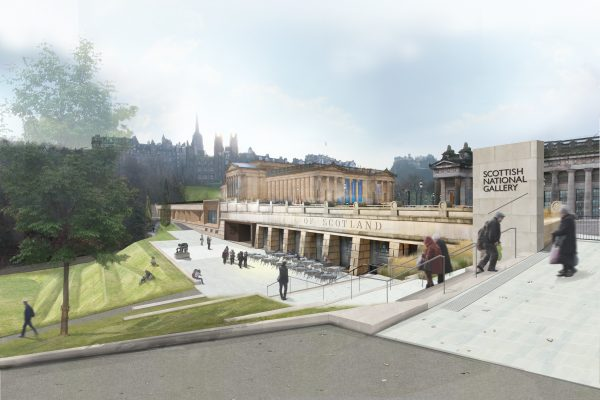 Green light for Scottish National Gallery extension