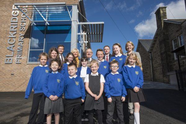 School extension earns top marks from Blackridge pupils