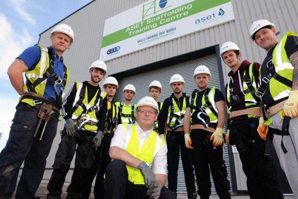 Scaffolding training facility opens in Aberdeen