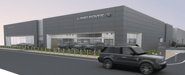 CCG geared up to build new car showroom