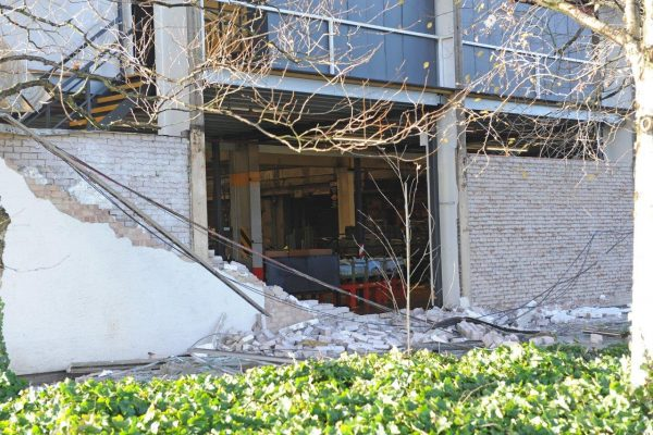 JCB's HQ struck by mini tornado