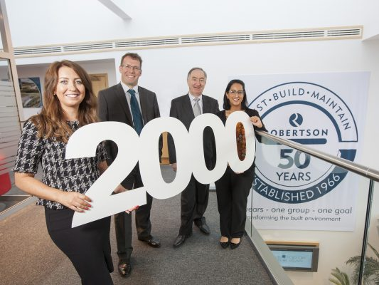 Robertson makes landmark appointment in 50th year