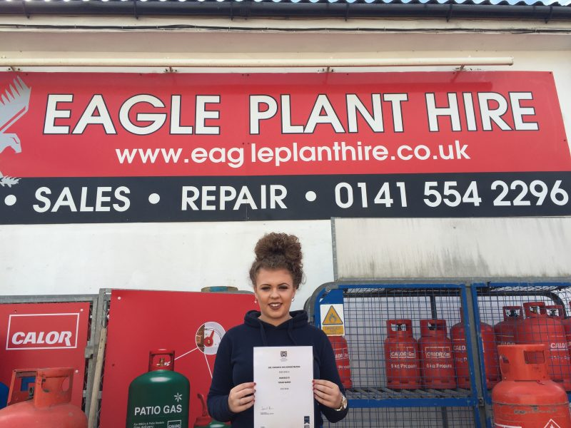 Eagle Plant Apprentice Is Flying High Project Scotland