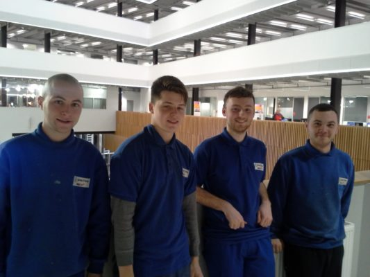 New apprentices impress at James Frew