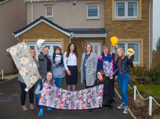 Showhome visit gives architecture and design students food for thought