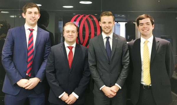 Scots JLL graduates qualify as chartered surveyors