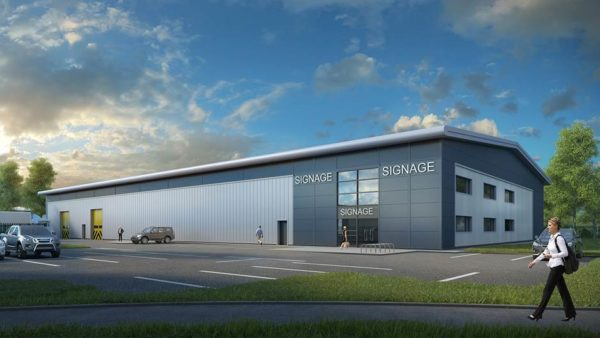 Work starts on £3 million business unit project