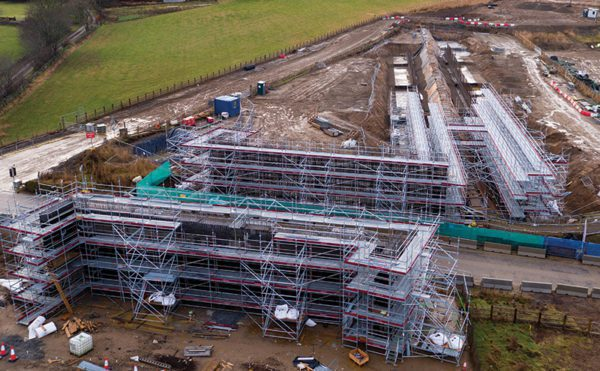 Scaffolding capability drives ahead bypass project