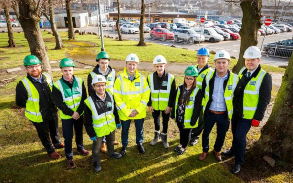 MSP checks out Monklands Hospital project progress