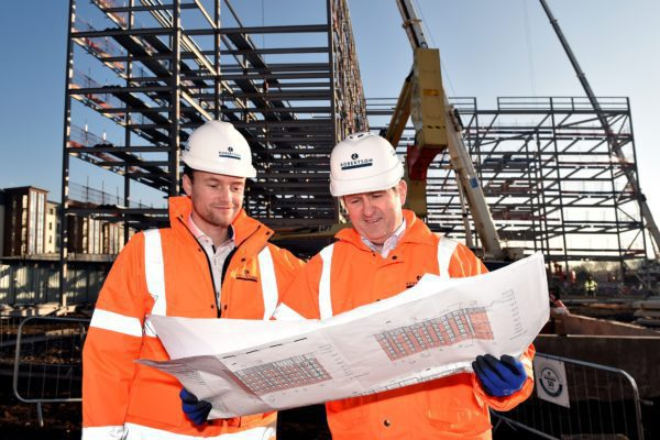 Milestone reached at £19m student accommodation site