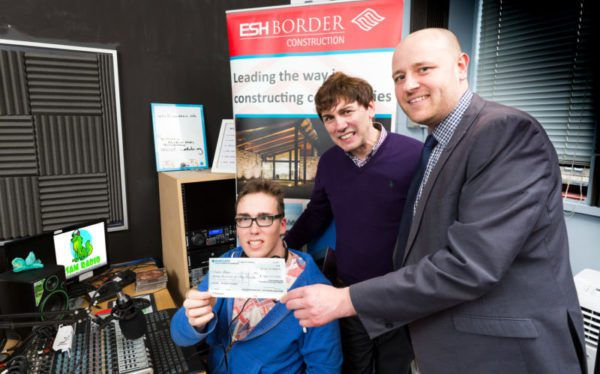 Construction firm backing autistic radio station