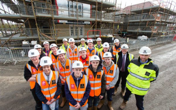 Partnership helps young adults break into construction