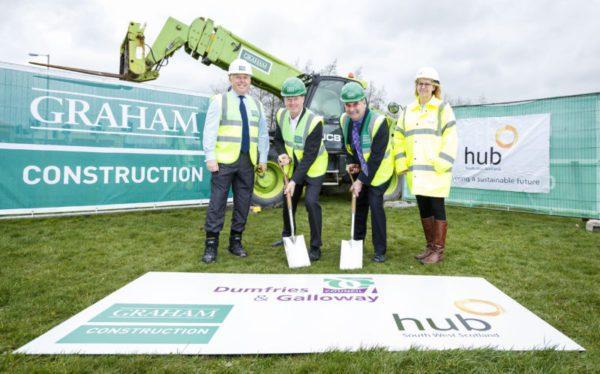 Bridge project underway in Dumfries