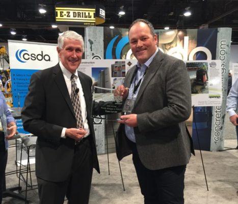 Glasgow tunnel work sees Broxburn firm earn top award in Las Vegas