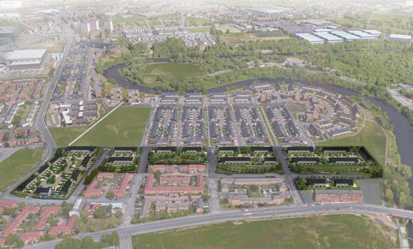 Plans submitted for Phase 2 of Glasgow's Athletes' Village