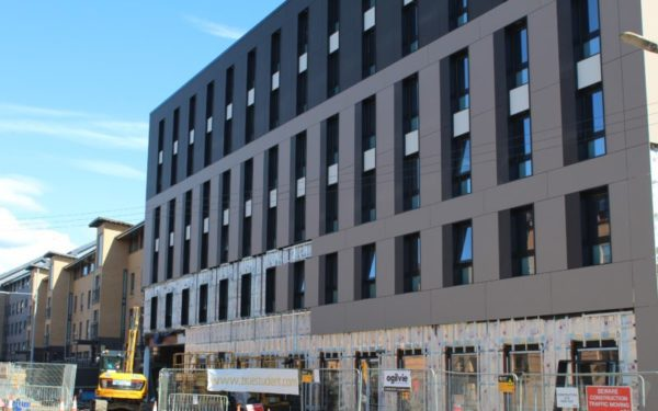 """""""Strong"""" interest in Glasgow modular build student complex"""
