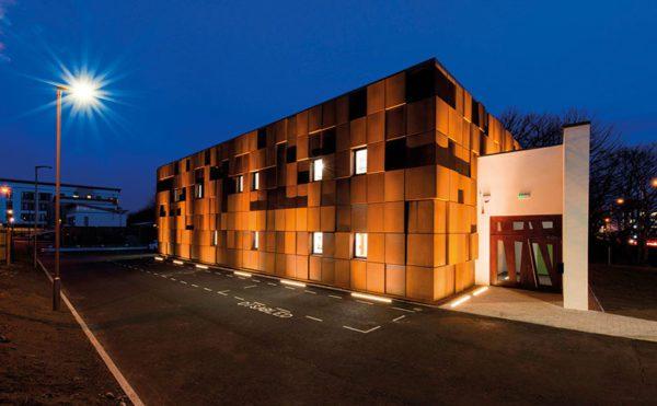 Cladding solution for Edinburgh 'fortress'