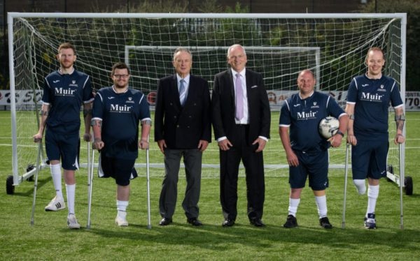 Muir Group helps send amputee football team into Europe