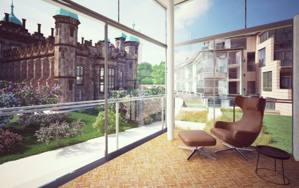 "Construction starts on ""one-of-a-kind"" Edinburgh development"