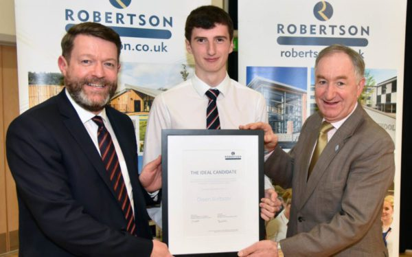 Elgin pupils make the grade with work placement scheme