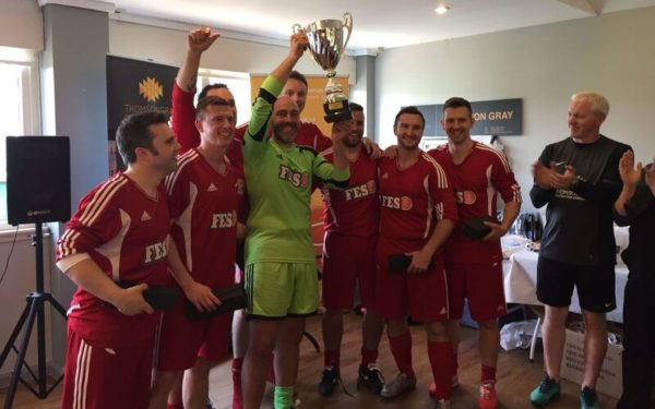 Football event nets thousands for charity