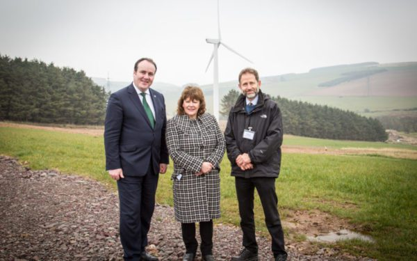 Wind farm project earns awards recognition
