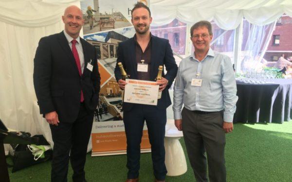 Electrical firm founder honoured for presentation skills