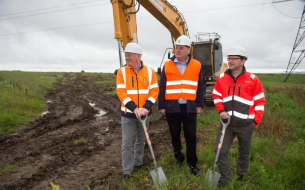 Work starts at Lidl's new Lanarkshire base