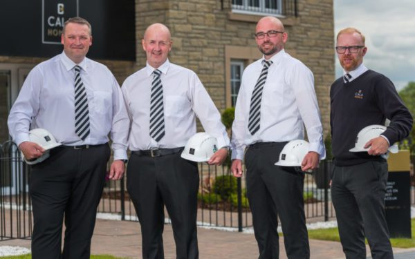 Site managers setting the standard for housebuilder